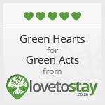Green Hearts 5* Award