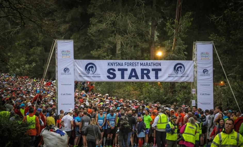 Knysna forest Marathon - Come and stay at Tree Spirit cottages